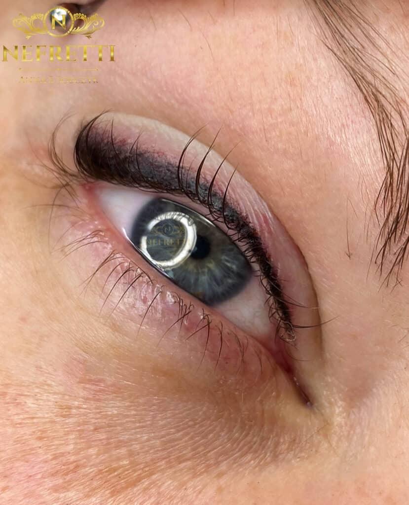 Makijaż permanentny oczu Nefretti Szczecin